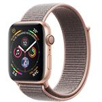 Apple Watch Series 4 GPS + Cellular, 44mm Gold Aluminium Case with Pink Sand Sport Loop