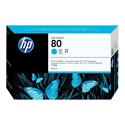 HP 80 350-ml Cyan Ink Cartridge